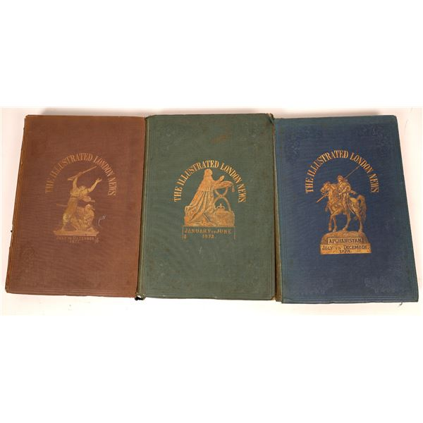 Three Volumes of The Illustrated London News (3)  [139344]