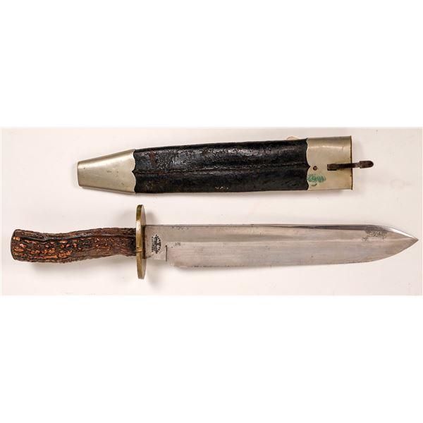 Civil War Bowie Knife by Mappin & Webb Sheffield  [139748]