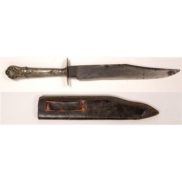 Civil War Bowie Knife by W.F. Jackson Sheffield  [139992]