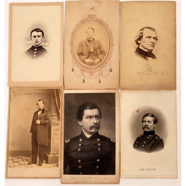 Civil War Cartes De Visite Collection  [139261]