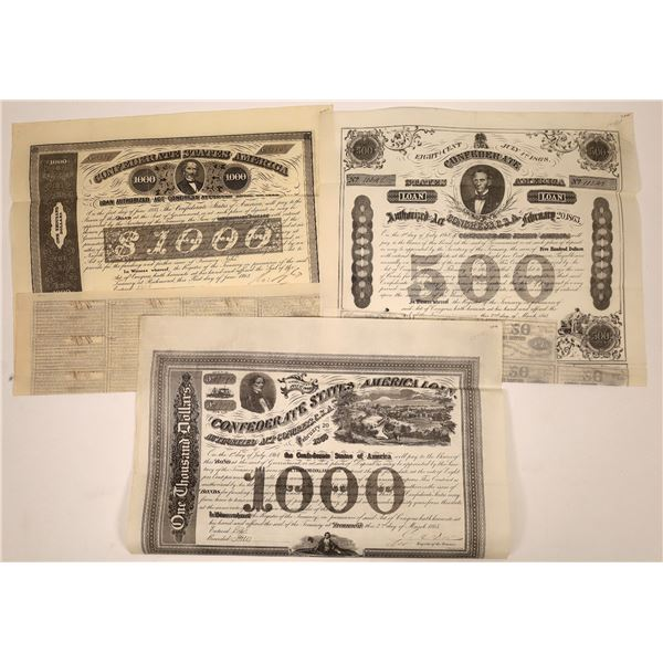 Confederate Bonds  [138512]