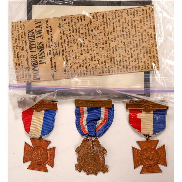 Medals of a Civil War Veteran  [137897]
