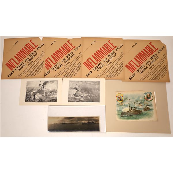 A Photo Journal of the Naval Battle in Manila Bay during the Spanish-American War   [137749]