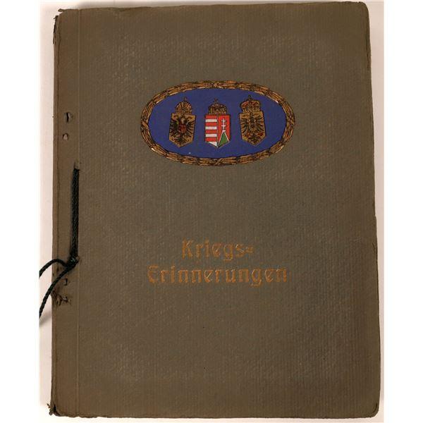World War One German Photo Album  [139208]