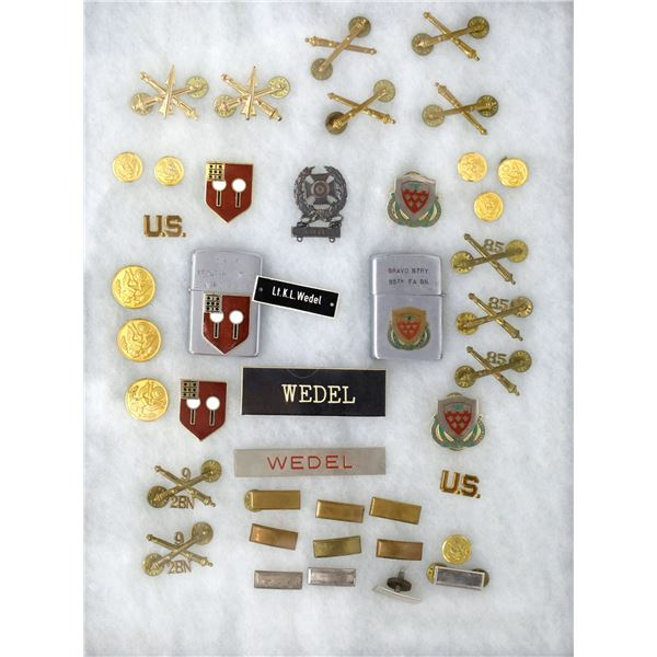 WW 2 Field Artillery Uniform Decorations   [138419]
