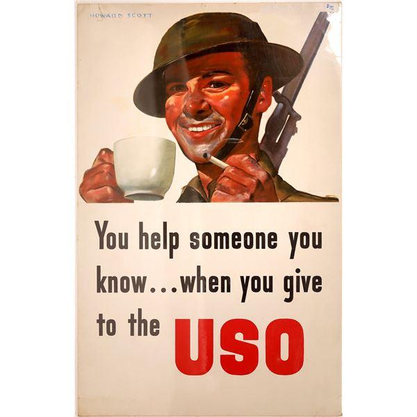 WW 2 Military Poster by Howard Scott  [139533]
