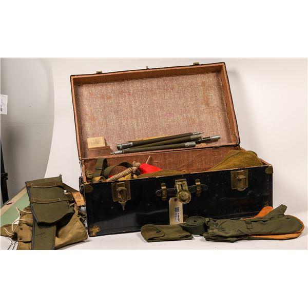 WWII Trunk with Field Gear  [139437]