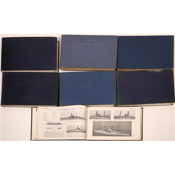 Jane's Fighting Ships, Merchant Vessels, and Aircraft of the World in Volumes  [138422]