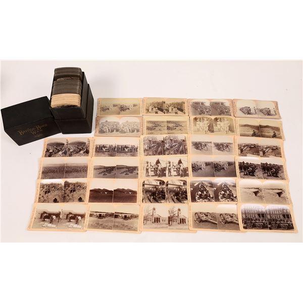 The British-Boer War, 100+-piece Stereocard Set  [138585]