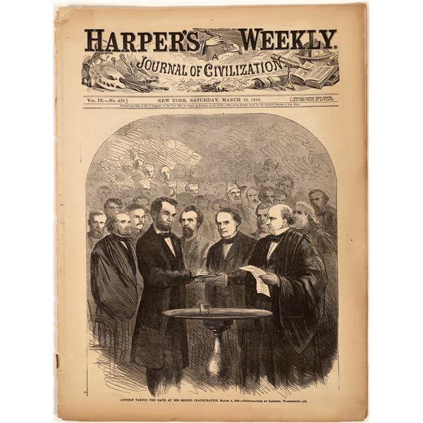 Harper's Lincoln Inaugural Edition  [139332]
