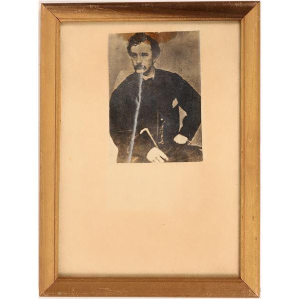Mathew Brady Portrait of John Wilkes Booth  [127010]