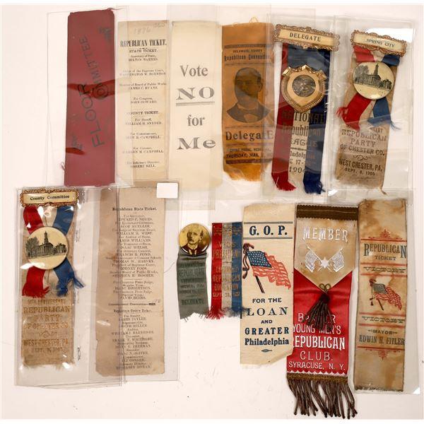 Republican Party Medals/Ribbons (13)  [139211]