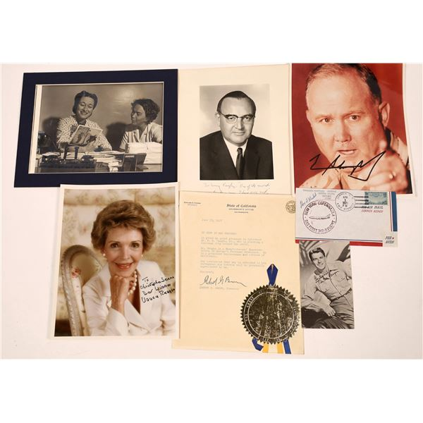 VIP Political Autograph Photos  [127678]