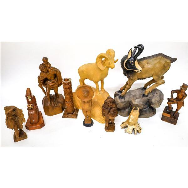 Wood Sculptures  [138430]