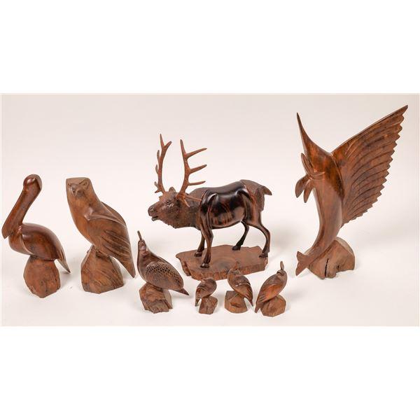 Ironwood Carved Figurines  [138427]