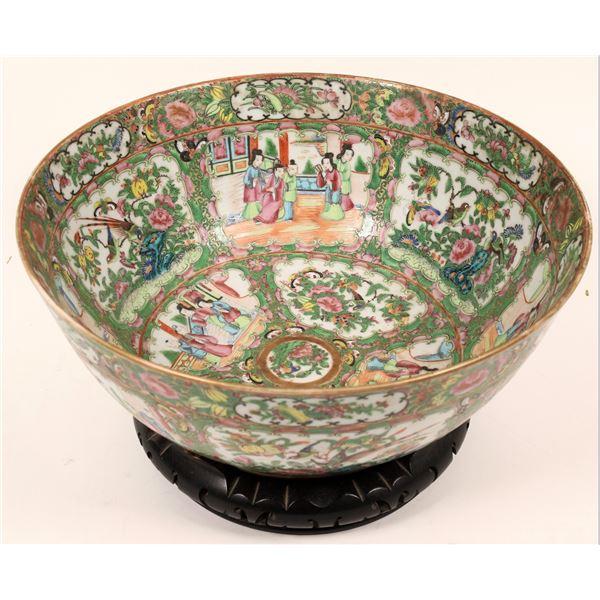 Chinese Lusterware Bowl & Stand  [139361]