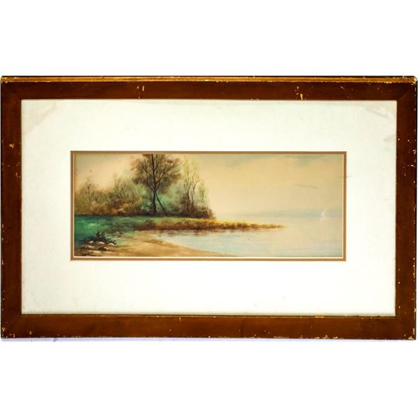 Original Watercolor by George Morton  [139645]