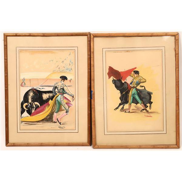 Original Matador Drawings  [139840]