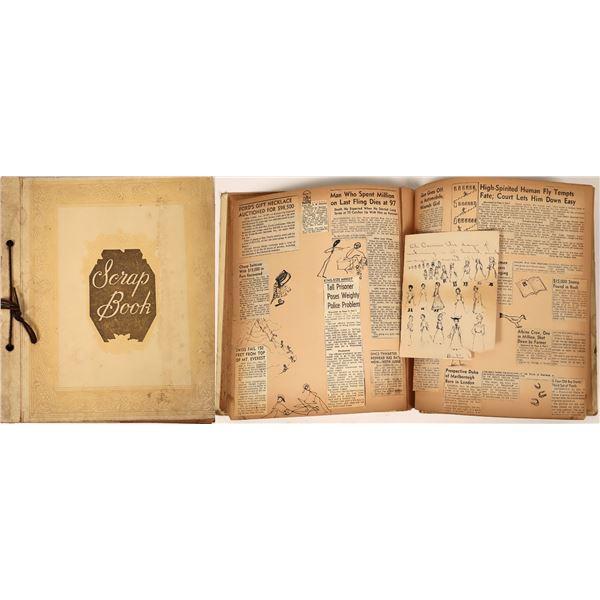 Scrap Book of Art/Drawings  [139125]