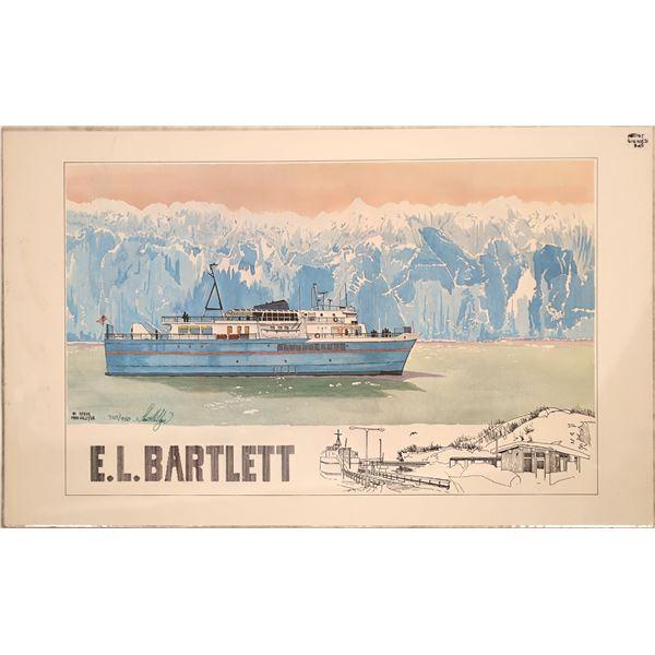 A Print of the Marine Vessel E.L. Bartlett of Alaska   [139692]