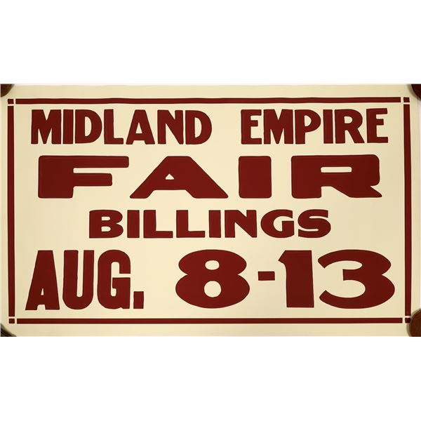 Midland Empire Fair in Billings, Montana Poster   [139743]