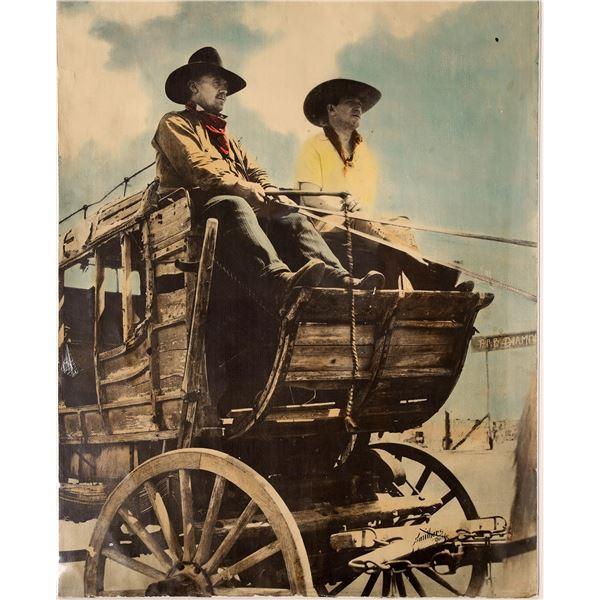 Stagecoach Cowboys at the Bar Diamond Ranch  [139696]