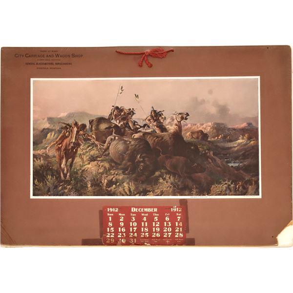 1912 Missoula, Montana Calendar  [139535]