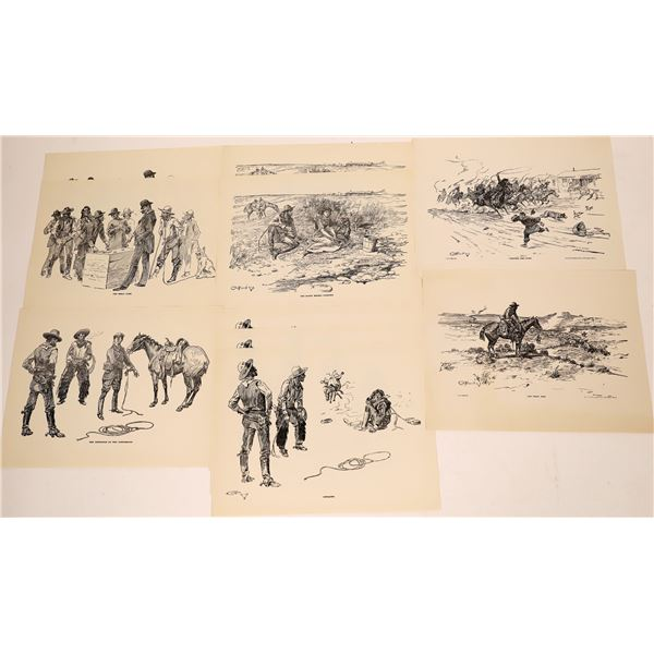 C.M. Russell Prints from the Snook Trading Post   [139699]