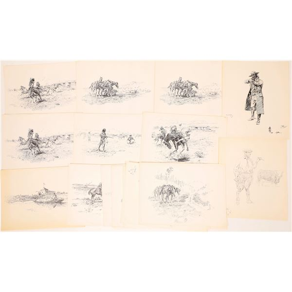 C.M. Russell in 1st Stage Prints  [139700]