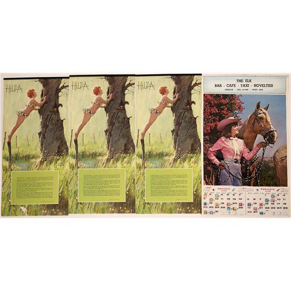 Calendars from Chinook, Montana  [139534]