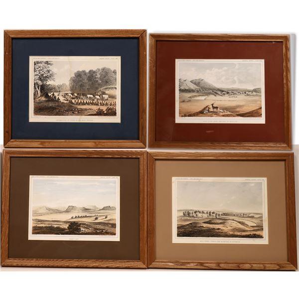 U.S. Pacific Railroad Exploration & Survey Lithograph Prints 1853-1854  [138446]