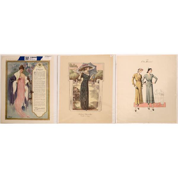 Women's Fashion Advertisements 1920's  [138444]