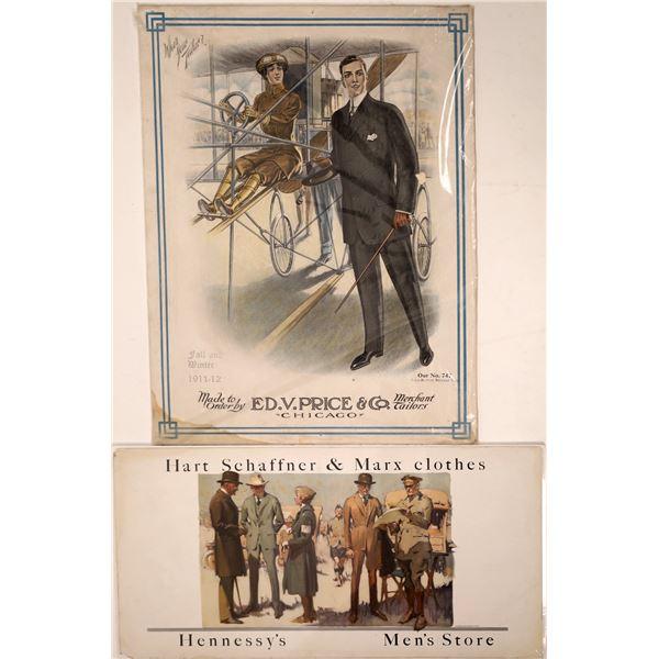 Men's Fashion Advertisements 1911-1918  [138445]