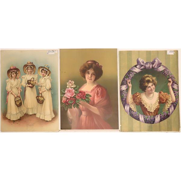 Post WW1 Victorian Style Prints  [139690]