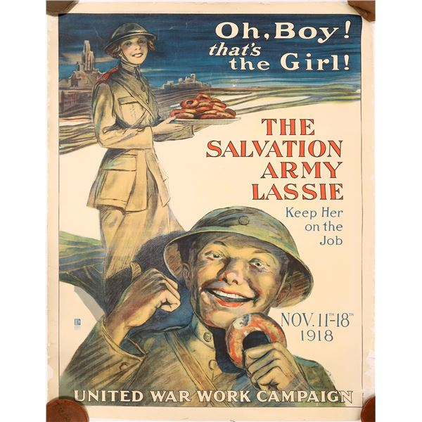The Salvation Army Lassie by the United War Work Campaign 1918  [139735]