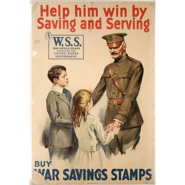 Buy War Savings Stamps 1918 Lithograph  [139726]