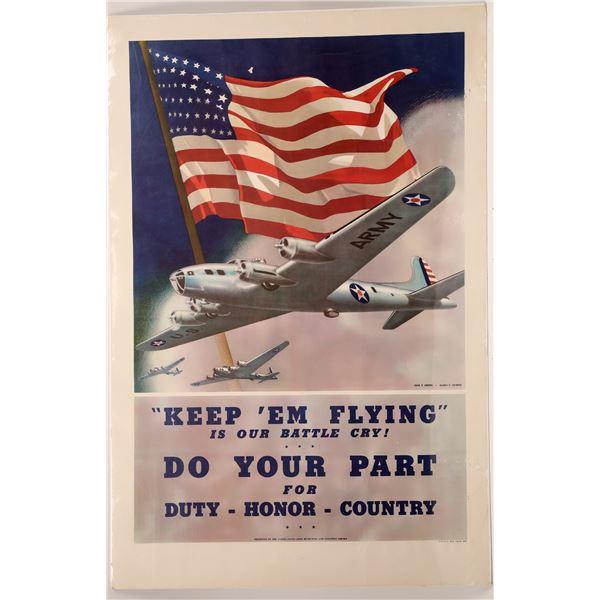 Keep 'em Flying a Print by Dan V. Smith  [139727]