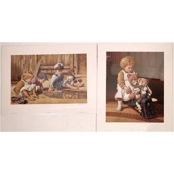 Jim Daly signed art prints  [139694]