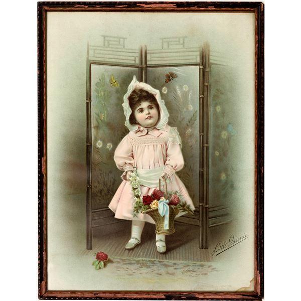 Little Queenie, Chromolitho, c1885-1900  [138662]