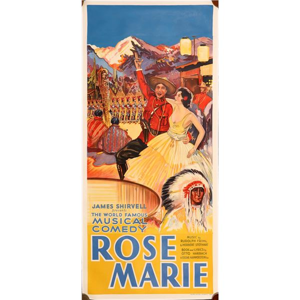 Rose Marie a Musical Comedy Stage-play in Poster   [139741]