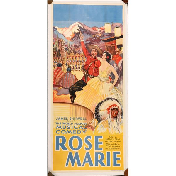 Rose Marie a Musical Comedy Stage-play in Poster   [139744]