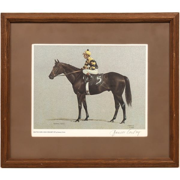 Jenness Cortez Signed, Framed, Racehorse Collection (Lot of 6)  [140746]