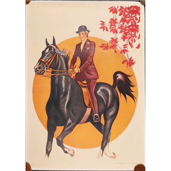 Horse Show Poster  [139742]