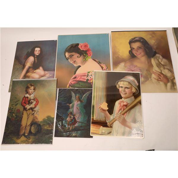 Zoe Mozert Poster Art c. 1920's to 1940's  [138441]