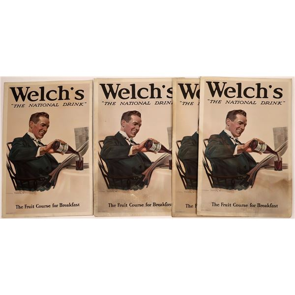 Welch's Grape Drink Store Sign Stand-ups  [139116]