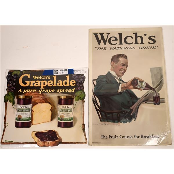 Welch's Grape Juice Country Store Signs  [139113]