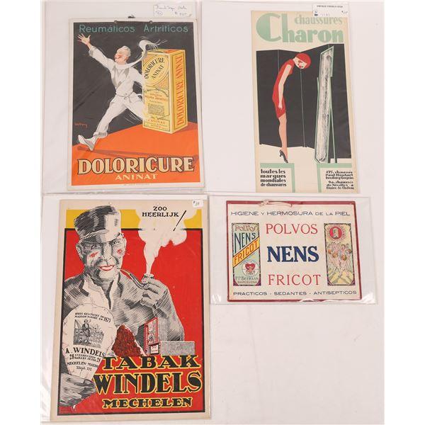 International Advertising Pieces (4)  [140536]