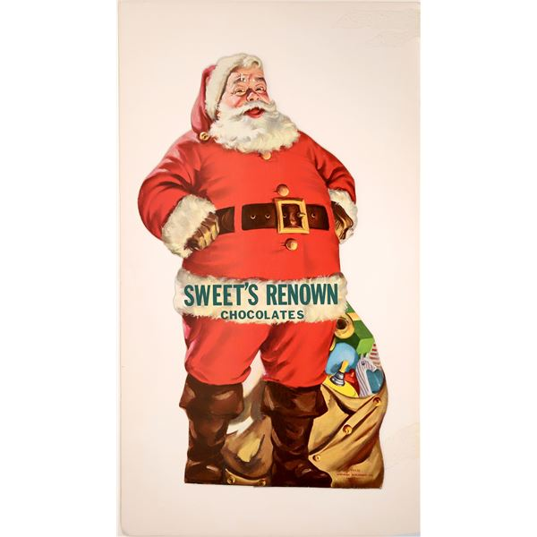 Santa Claus for Sweet's Renown Chocolates  [139115]