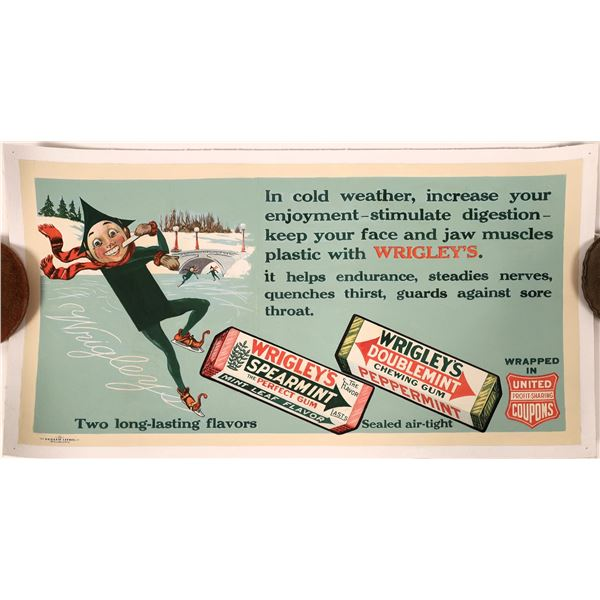 Wrigley's Chewing Gum Advertising Poster  [139734]