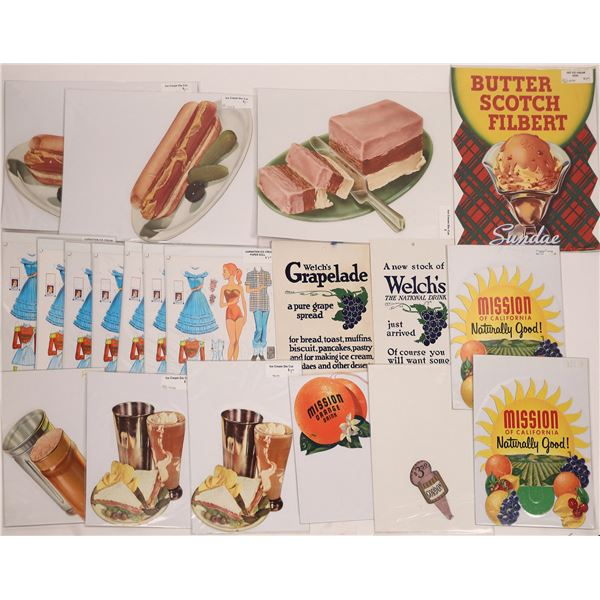 Card Advertising Pieces (20)  [127992]